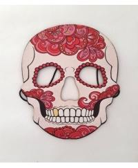 Masca Halloween copii Day of the Dead roz
