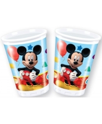 Set pahare plastic Mickey Mouse Clubhouse